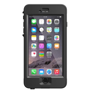 LifeProof - nuud Case for Apple iPhone 6 Plus in Black