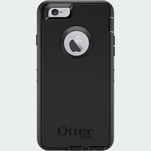 OtterBox - Defender Case for Apple iPhone 6 in Black