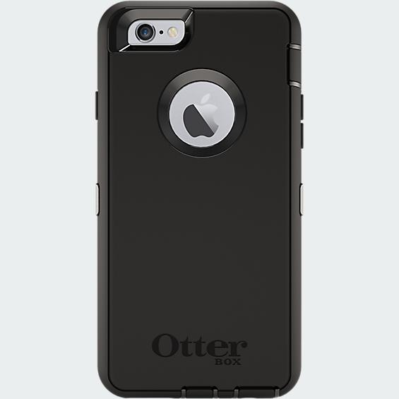 OtterBox – Defender Case for Apple iPhone 6 in Black
