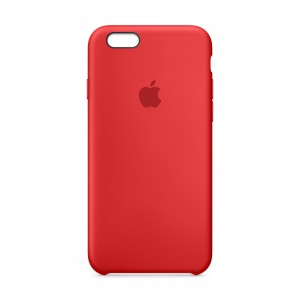 iPhone 6s Plus Leather Case Red Special Edition