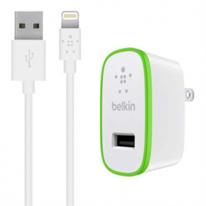 Belkin BOOST↑UP™ Home Charger with  Lightning to USB Cable
