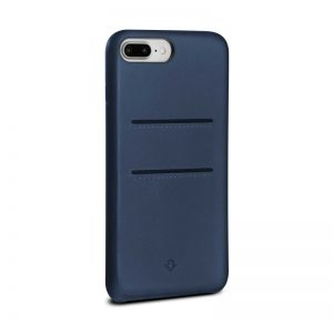 Twelve South Relaxed Leather Case with Pockets iPhone 8 Plus/7 Plus/6 Plus - Indigo