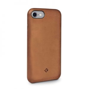Twelve South Relaxed Leather Case with Pockets iPhone 8/7/6 - Cognac