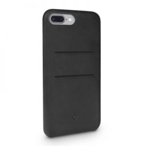 Twelve South Relaxed Leather Case with Pockets iPhone 8 Plus/7 Plus/6 Plus - Black