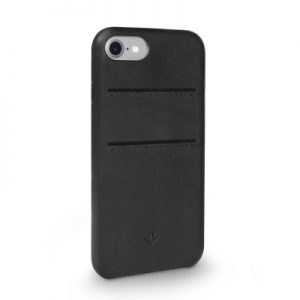 Twelve South Relaxed Leather Case with Pockets iPhone 8/7/6 - Black