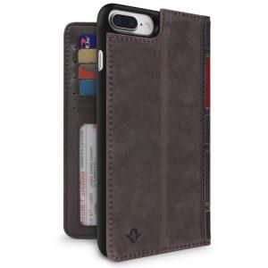 Twelve South BookBook for iPhone 8 Plus/7 Plus/6 Plus Brown Leather Case