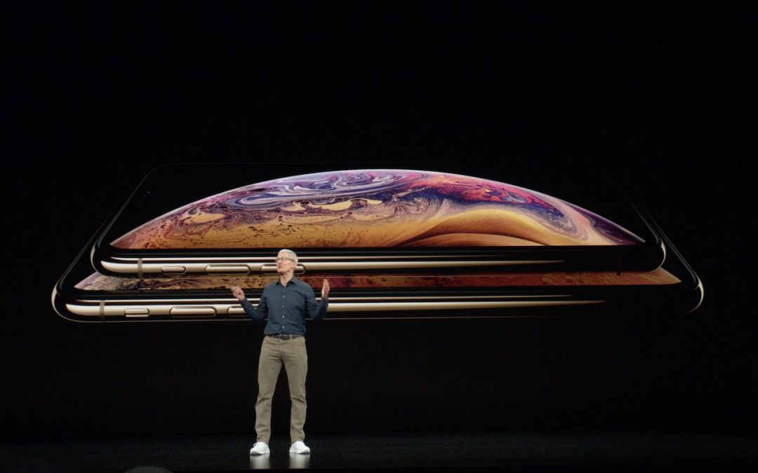 iPhone Xs announcement photo